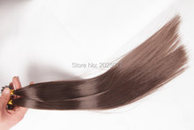 Fashion Key Hair products hair style Pre-Bonded U-tip 2g/pcs  weave dark brown or other high quality hair extension