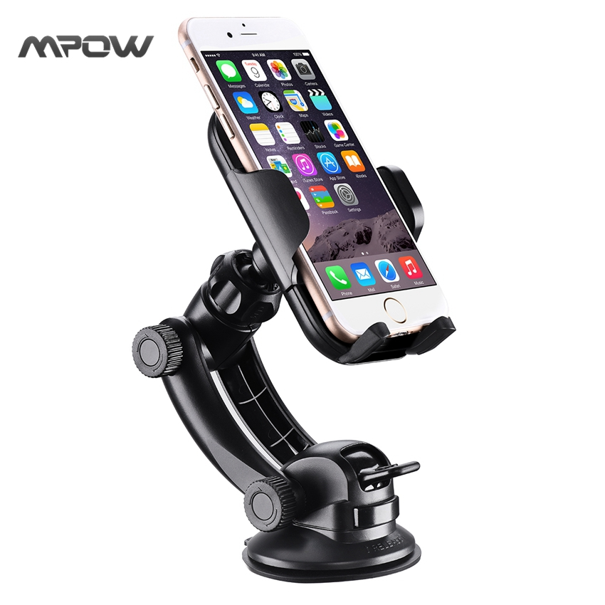 Mpow car phone holder cd slot car phone mount universal car cradle mount 13