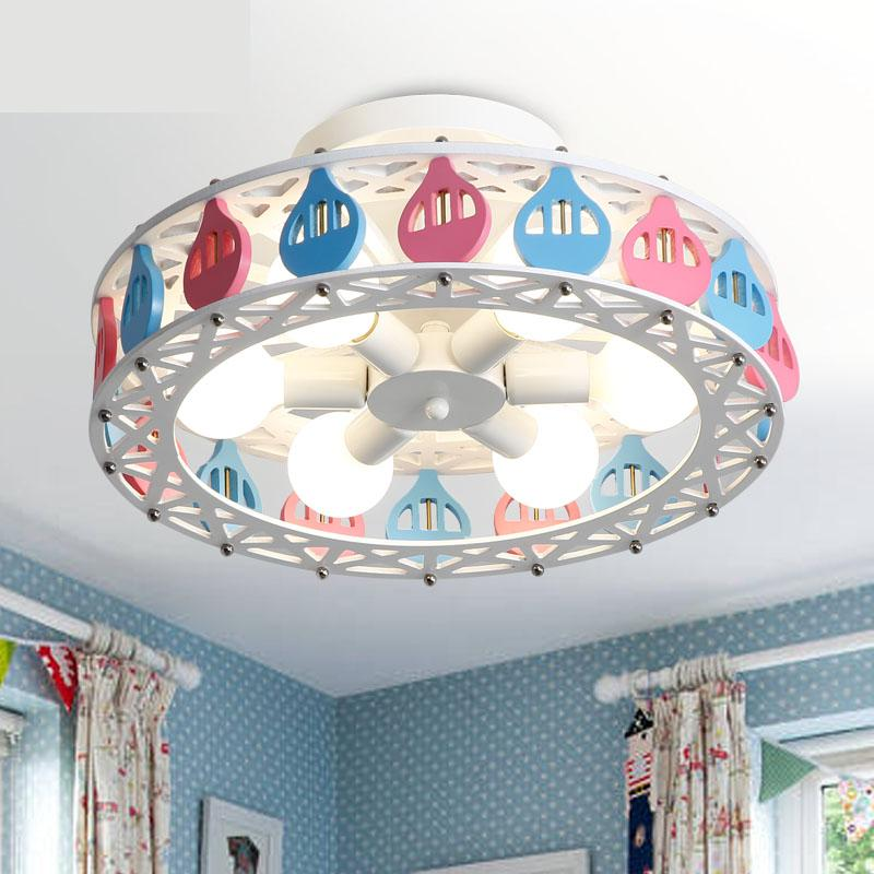 Ferris wheel LED ceiling lamp boy girl princess bedroom Ceiling Lights creative cartoon personality children room lighting creative cartoon ceiling lamp smd led electrodeless dimmable air plane shape light study children boy girl room bedroom