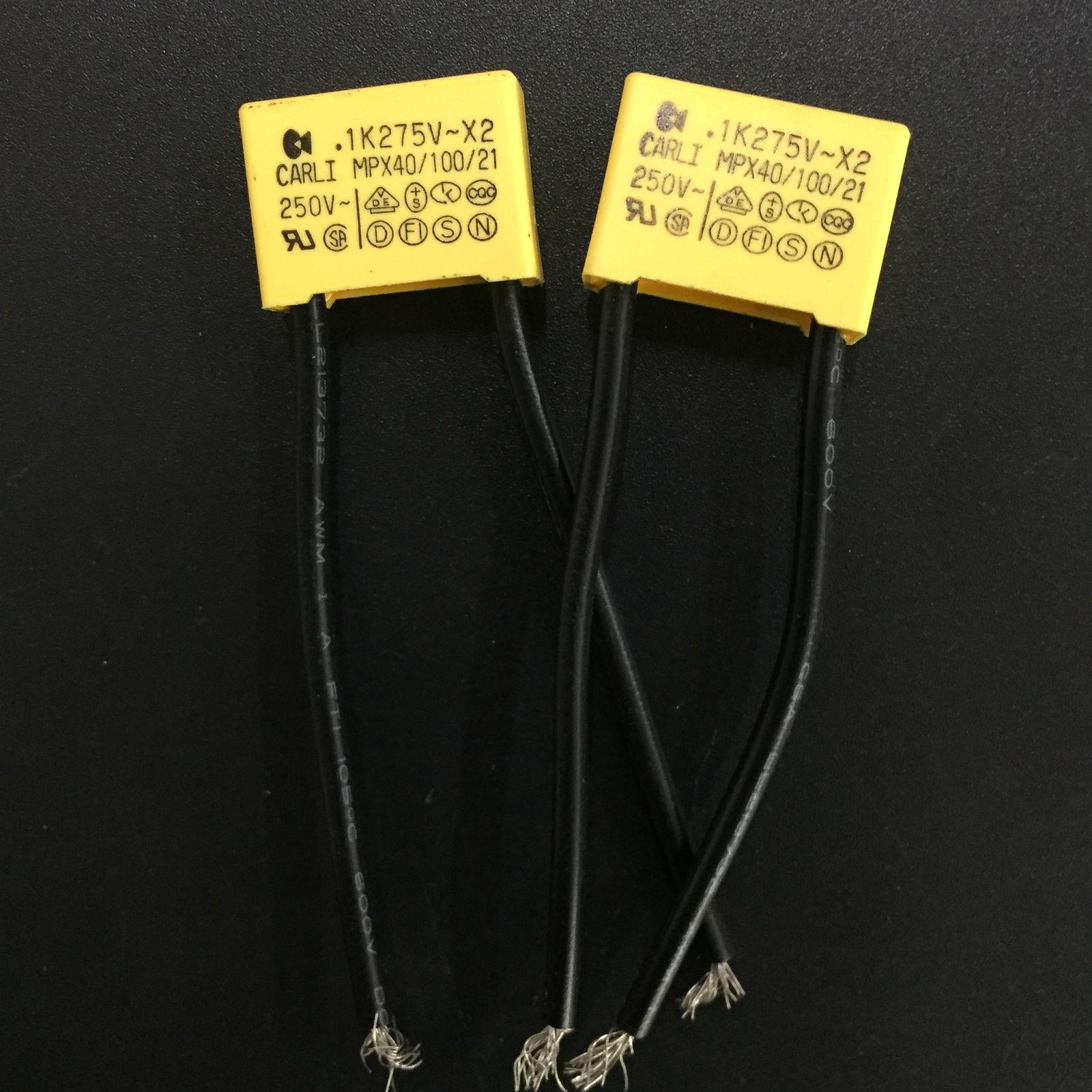 10pcs 275VAC 275V 684K 684 0.68uF 474K 474 0.47uF 224K 224 0.22uF 154K 154 0.15uF 104K 104 0.1uF X2 Safety Capacitors