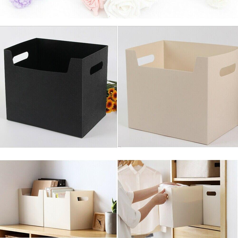 Multipurpose Portable PP Books File Box Paper Holders Office Documents Desktop  Large-capacity Organizer Kit