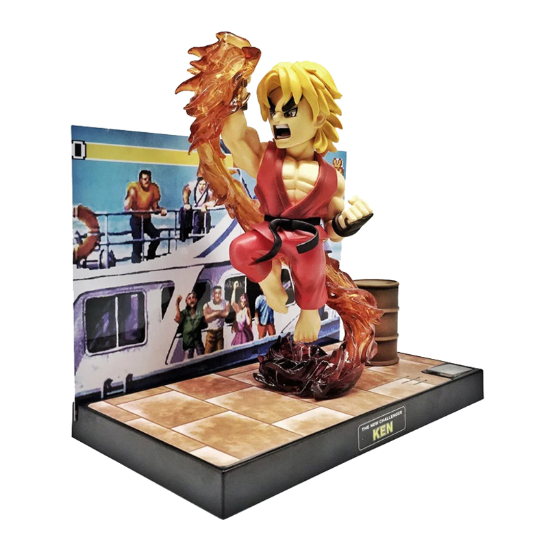Big Boys Toys Street Fighter Ken and Chun-Li Figure Toy Doll wing chun boji tutorial