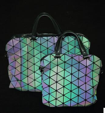 high-end geométrica diamante xadrez bolsas Tipo de Estampa : Geométrica
