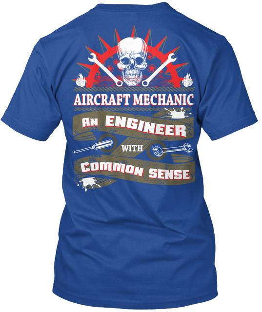 Aircraft Mechanic Engineer T-Shirt