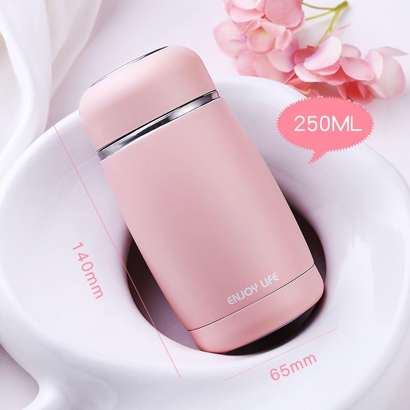 500ml Edelstahl Isolierkanne Wasserflasche Thermoskanne Kaffee Tasse Tragbar