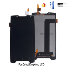 For Cubot King kong LCD Display Touch Screen Digitizer Replacement Phone Parts For Cubot Kingkong Display LCD Display Screen