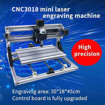 CNC 3018 ER11 Laser Cutter Engraver Laser Engraving Machine Mini Milling Machine Wood Router GRBL Control Woodworking Tools