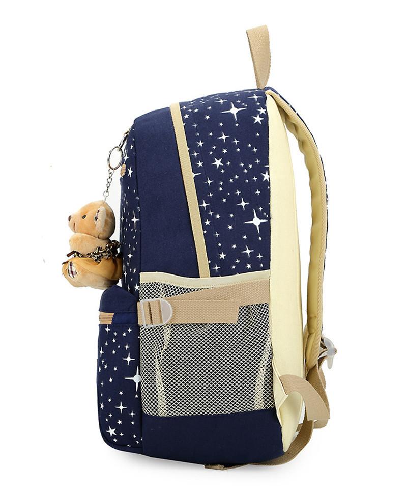 270 (3)3 pièces/ensemble sac à dos sacs d'école