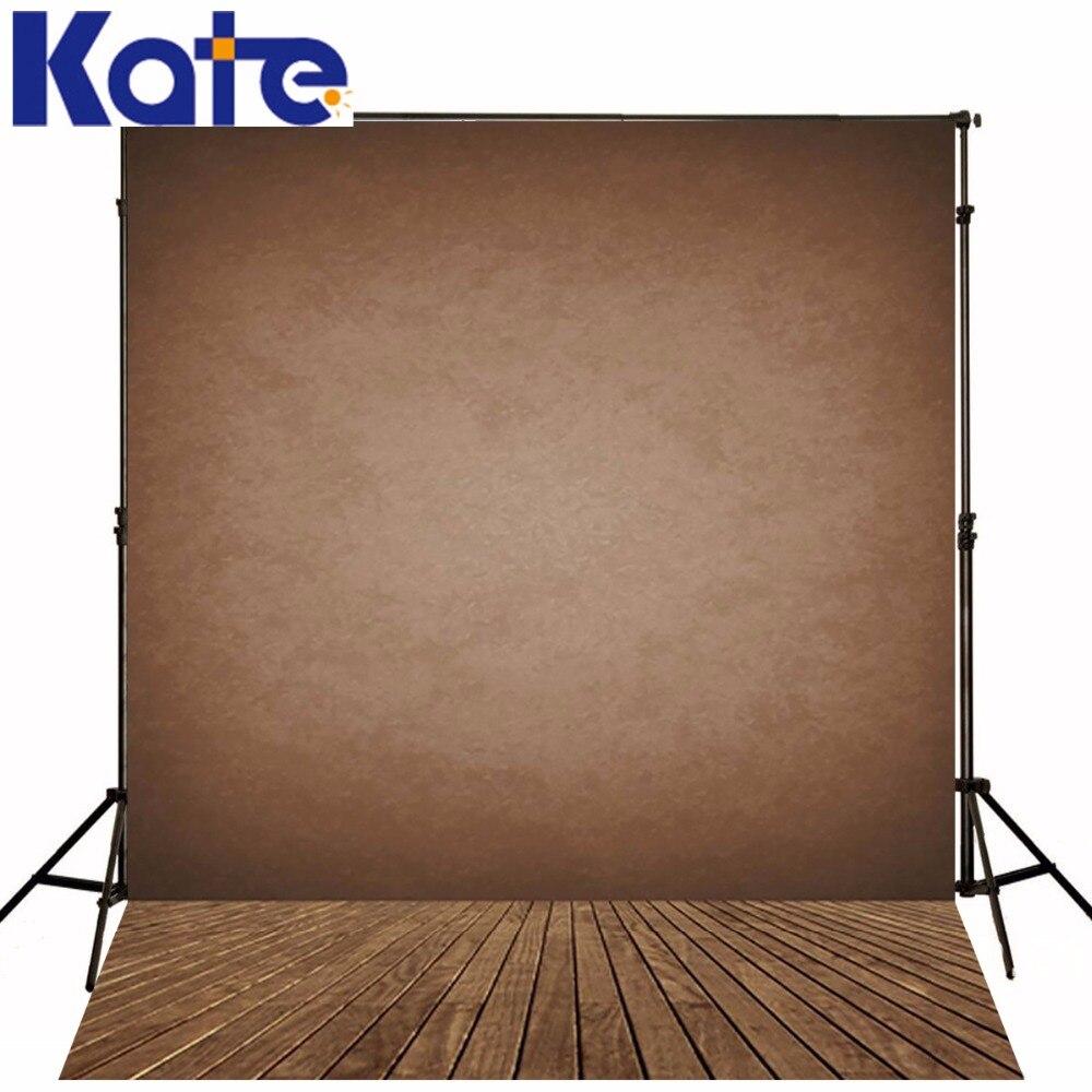 5x7ft (150x220cm) Kate Retro Baby pozadí kartu Barva pozadí Vintage dřevěné podlahy pozadí pro fotografa