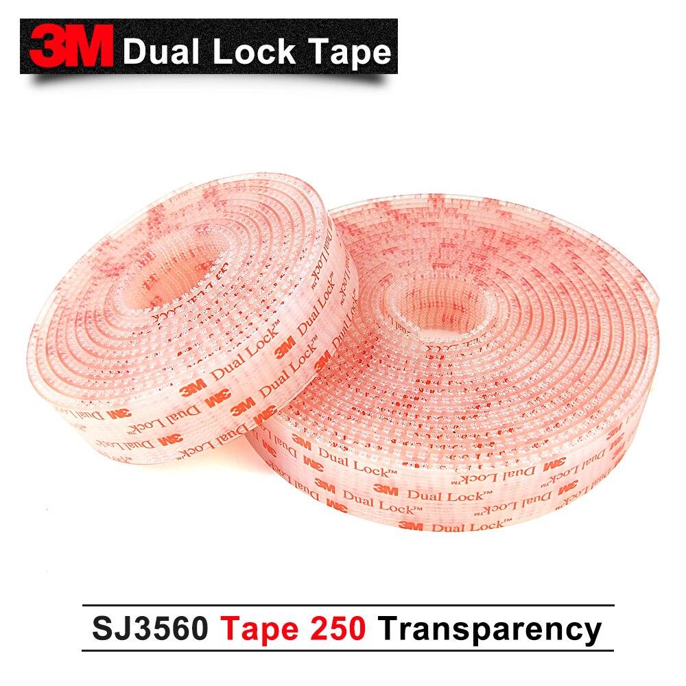3M SJ3560 self adhesive dual lock tape with self adhesive Dual Lock tape 25.4mm*20M self tie dual pocket front dress
