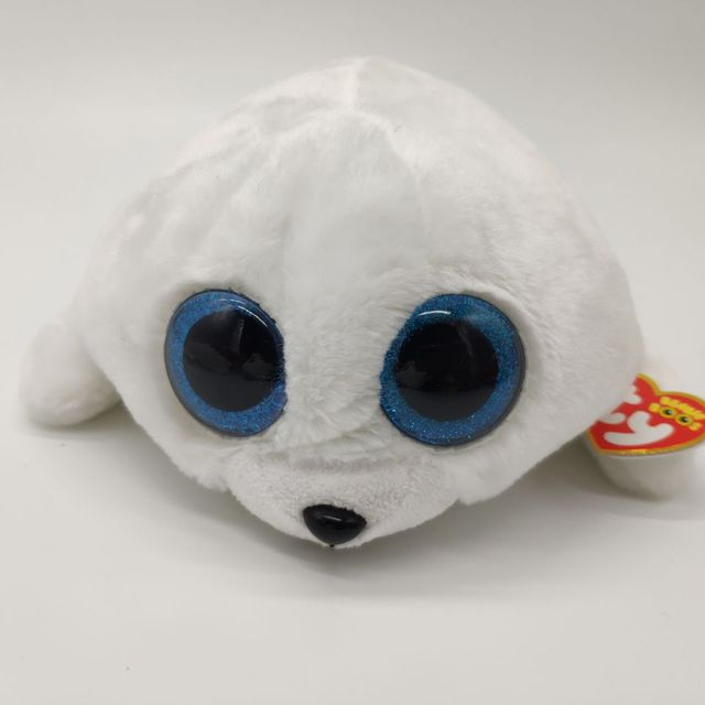 550e53660d8 ICY seal white seal TY BEANIE BOOS 25CM 10