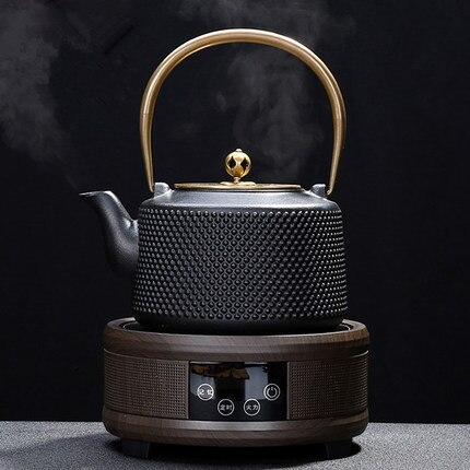 Чугунный чайник, ВОК, электрическая керамическая плита, автоматический кипячение, чайный набор, Япония, Электрический нагрев, многоцелевой чайный чайник, набор