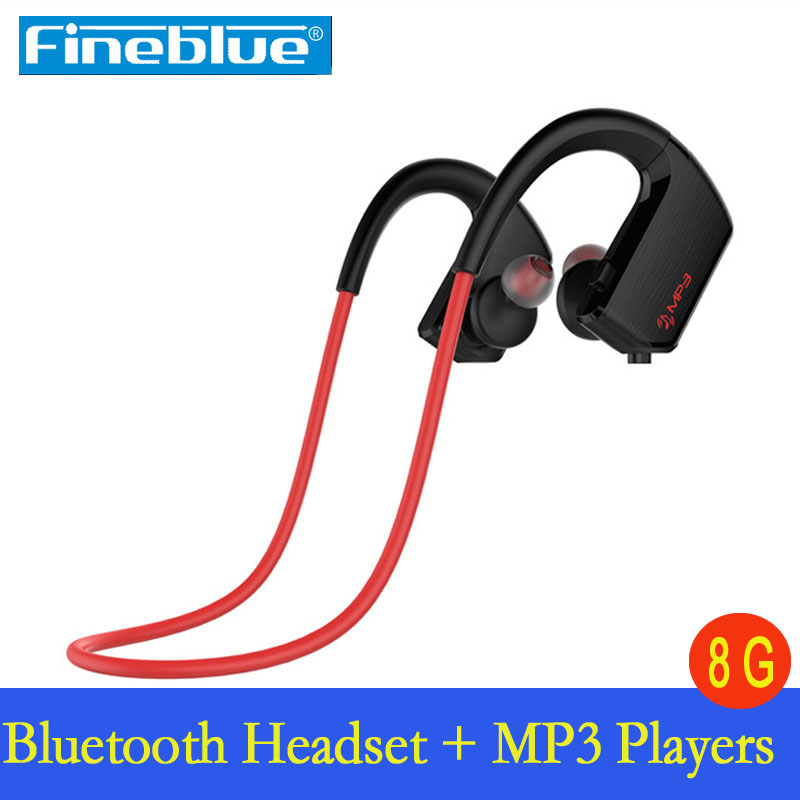 J2 IPX4 waterproof running ear headset stereo sport earphone wireless bluetooth headphone +8GB Mp3 Player  for Phone Fone headset 4 1 wireless bluetooth headphone noise cancelling sport stereo running earphone fone de ouvido for xiaomi iphone huawei