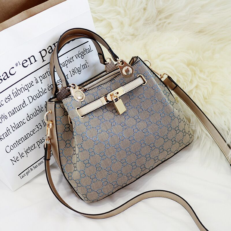 2018 ARRIVAL CASUAL ALL MATCHING STYLE WOMAN CANVAS SHOULDER BAG FOR AUTUMN AND WINTER HANGBAG AND MESSENGER BAG