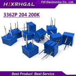 10 шт. 3362P-1-204LF 3362 P 200 К Ом 3362P-1-204 3362P-204 3362 P204 204 Подстроечный резистор Триммер Потенциометр переменный резистор