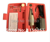 NEW Mini Drill Set Mini Drill Grinder Kit Micro Drill Electric Grinding Suit Non Package Red