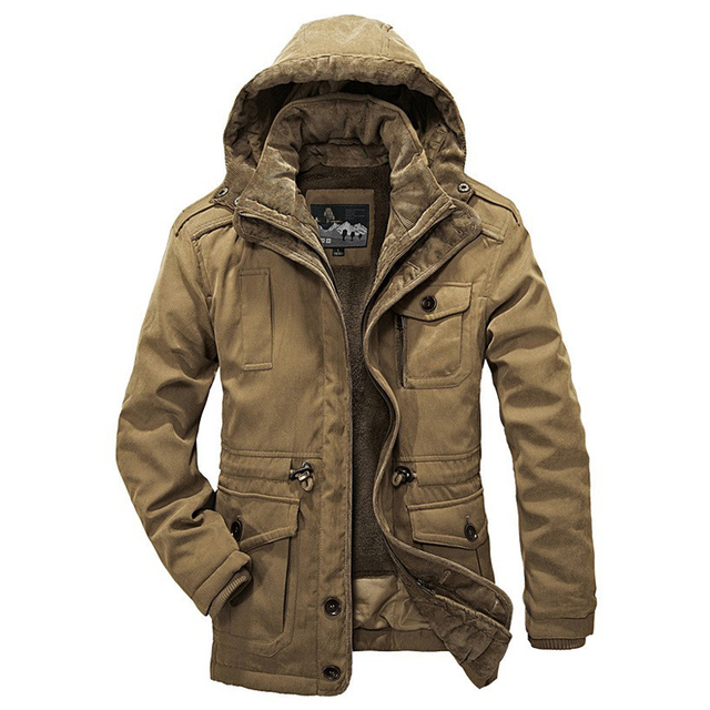 5d735e7f555 Hot Winter Jacket Men Thicken Warm Minus 40 Degrees Cotton-Padded Jackets  Men s Hooded Windbreaker