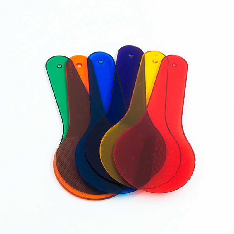 6 * Детские Монтессори обучающая Живопись Рисунок Цвет Соответствующие познание Пластиковые Детские тренировочные игрушки для детей цвет ing ребенок