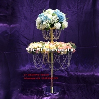 2 3 Layer Sky Wheel Acrylic Crystal Wedding Centerpiece Table Centerpiece Wedding Tall Wedding Chandelier Wedding