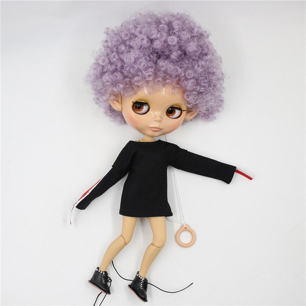 ICY Fortuna Giorni fabbrica blyth bambola 1/6 bjd tan pelle del corpo misto di Afor capelli viola viola dei capelli BL1049-in Bambole da Giocattoli e hobby su  Gruppo 3
