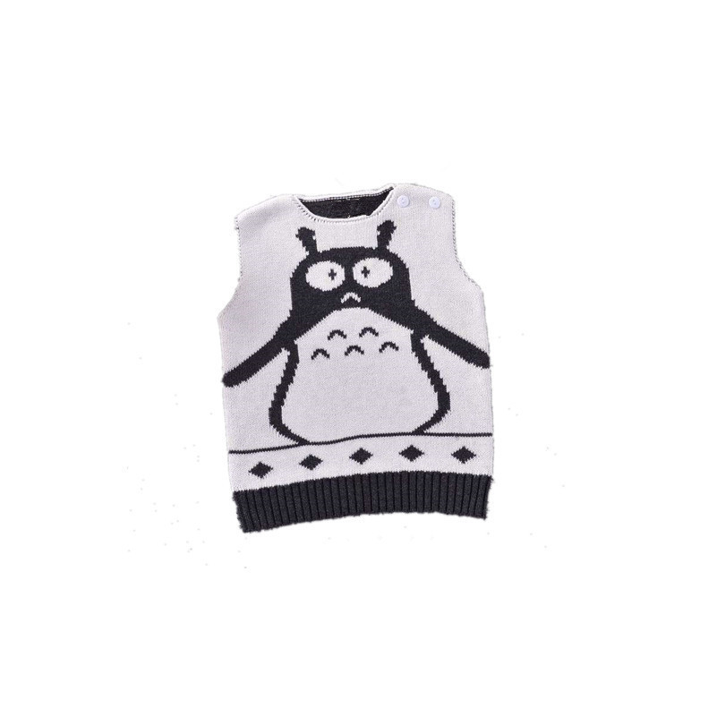 16b90fa0f Baby girls boys vests Spring Autumn Knitted Cotton Vest Open ...