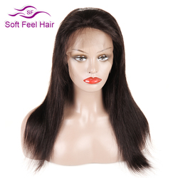Soft feel hair glueless lace front human hair wigs non remy brazilian straight hair wigs for.jpg 250x250