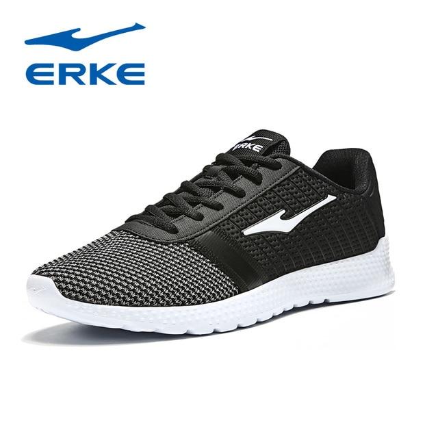 Ерке горячие спортивная обувь для ходьбы Обувь с дышащей сеткой беговые кроссовки на шнуровке спортивная обувь для мужчин 2018 Весна zapatillas