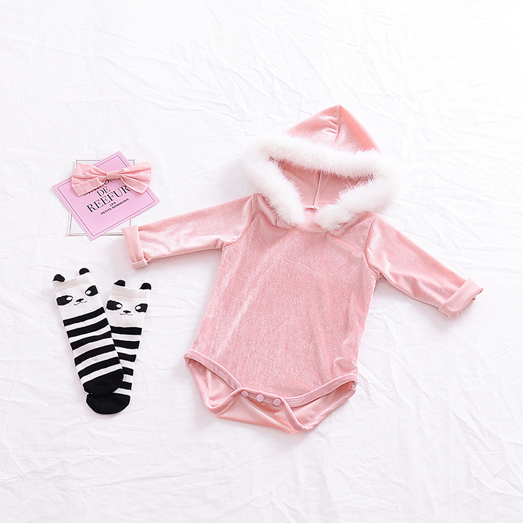 0e72daaee61b Buy Christmas baby rompers Spring Autumn girls overalls winter baby ...