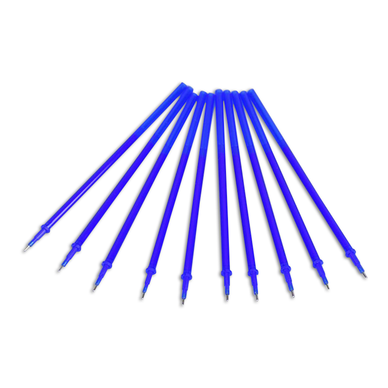 20 pcs/Set 0.38mm Blue/ BlackInk Erasable Gel Pen Refills Japanese Stationery Office And School Supplies Replacement Pen Refills wholesale special 10pcs erasable pen blue black dark blue red magic pen office supplies student exam spare