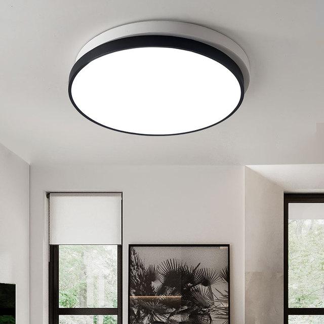 Moderne LED beleuchtung wohnzimmer decke lichter küche leuchten balkon  lampen Acryl korridor