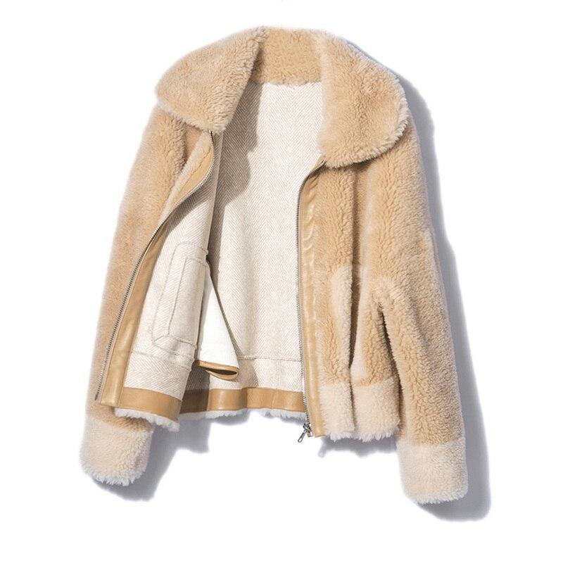 grey Laine Outwear Streetwear D'hiver Fourrure jaune Collar down Épaisse Mince Parka Femmes Manteau Chaud Réel De Turn Bleu Veste Mode Naturel BWnTRA8PX