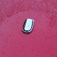 2 sztuk/zestaw ABS Chrome zraszacz głowy dysza do rozpylania wody wycieraczek strumieniem wody pokrywa wykończenia dla Ford Focus 2 3 4 MK2 MK3 MK4 Car Styling