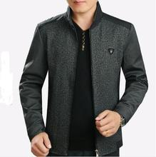 Free shipping !!! 2016 New age season middle-aged men's fashion leisure jacket, men's clothing of cultivate one's morali / M-5XL