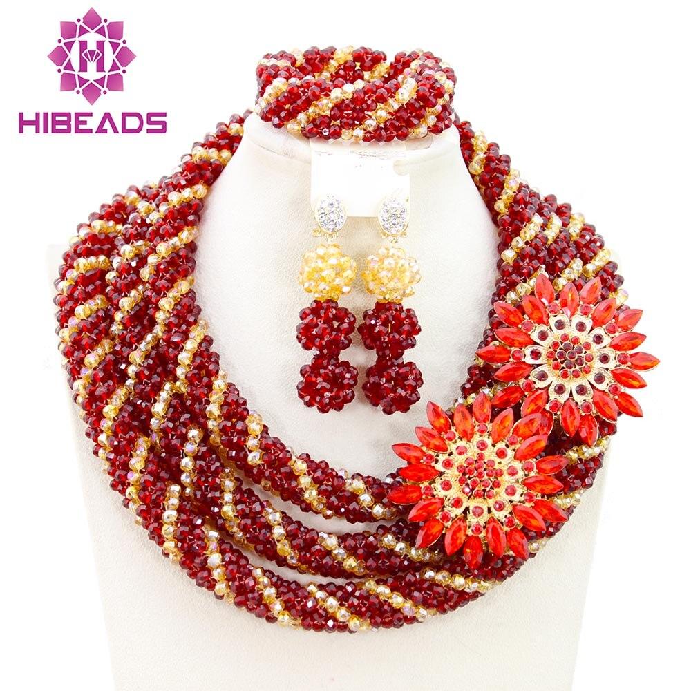 Fantastique femmes ensemble de bijoux belle ensemble de bijoux africains Design Unique livraison gratuite BN583