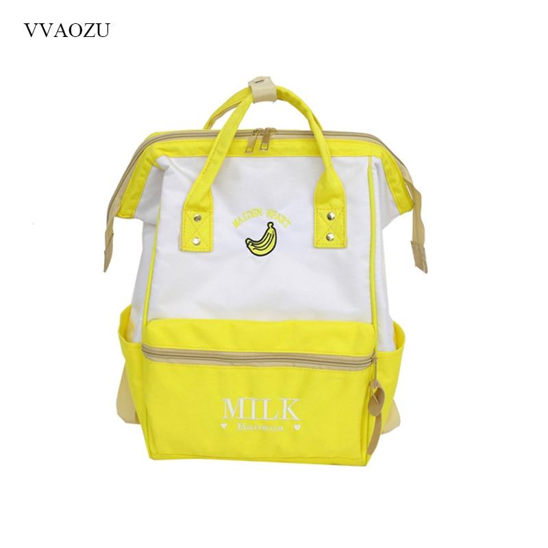 Japanese Style Backpack Harajuku Cute School Backpacks for Teenage Girls Kawaii Strawberry Clip Laptop Back Pack School Bag