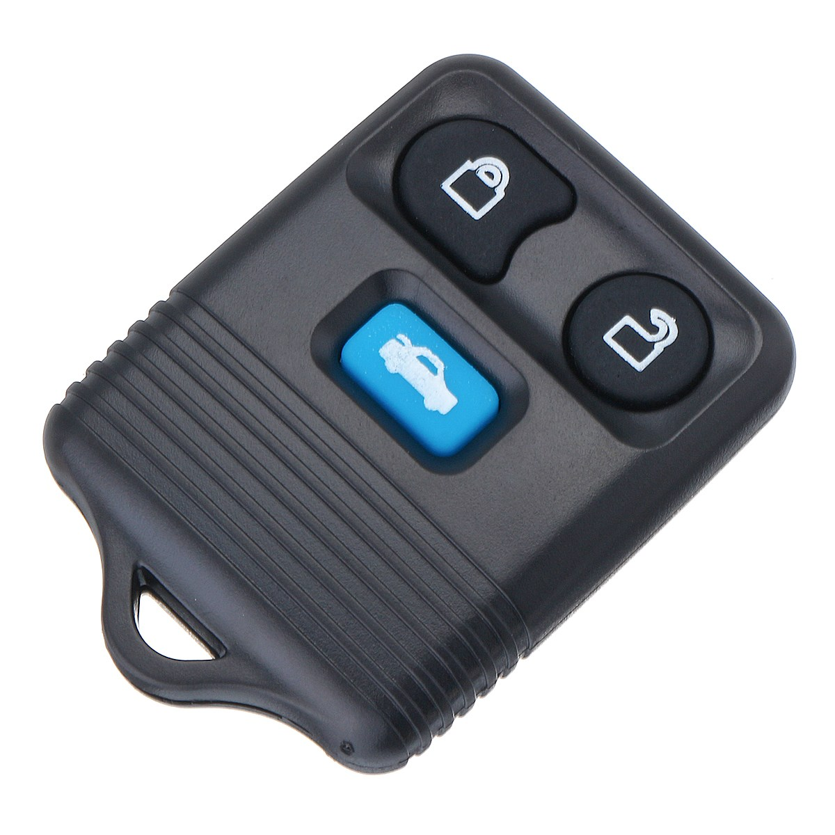 3 Buttons Car Remote Key Fob Case Shell With Battery For Ford