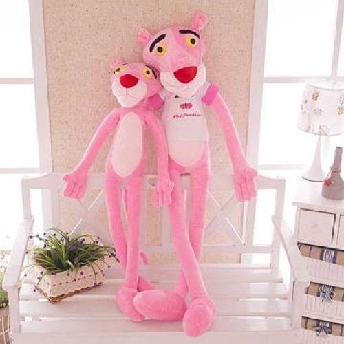 60 см милый розовый озорной Leopard Розовая пантера плюшевые Игрушечные лошадки детские куклы ...