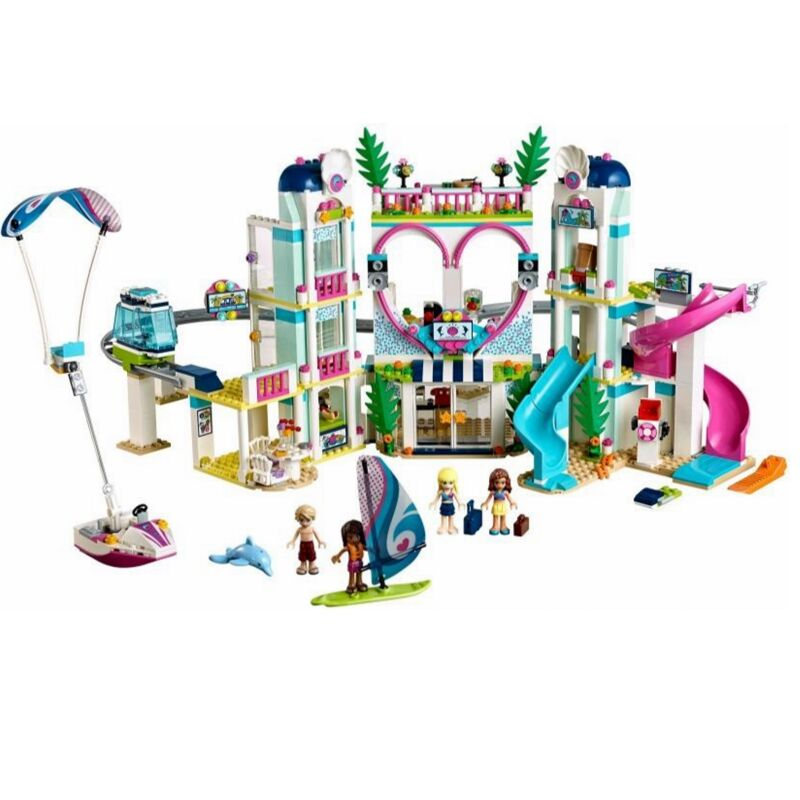 New Girl Friends The Heartlake City Resort Model Compatible With Legoingly 41347 Building Block Brick Toys For Children