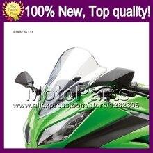 Clear Windshield For YAMAHA TZR250 TZR250R TZR250SP TZR 250 TZR250 R SPR RS 91 92 93 94 95 96 *126 Bright Windscreen Screen