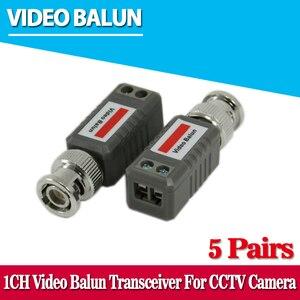 10 pcs cctv 비디오 balun 수동 트랜시버 2000ft 거리 utp balun bnc 케이블 cat5 cctv utp 비디오 balun
