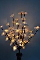 3 V Blossom mini Rose Zweig Licht 20