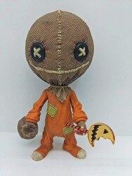 """HKXZM 16 CM sztuczka """" w leczeniu stylizowane SamTrick lub leczenia Halloween pcv rysunek dekoracji kolekcjonerskie modele na prezent w Figurki i postaci od Zabawki i hobby na"""