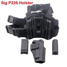 New!Tactical Black Right Handed Leg Holster Airsoft Pistol Thigh FIt For SIG SAUER P226