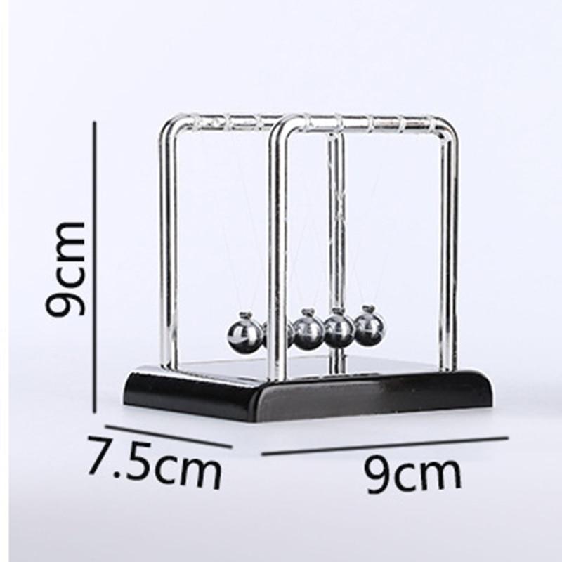 newton pendulum mini figurine miniatures newton ball steel balance