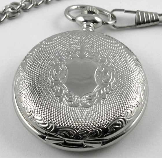 engraved pocket watches promotion shop for promotional engraved archaize silver stainless steel engraved mechanical antique style pocket watch hand wined classic watches chain men