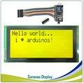 Serial IIC/I2C/TWI 2004 204 il Più Grande 20*4 CRISTALLI LIQUIDI del Carattere Modulo Display Giallo Verde Blu con retroilluminazione per Arduino