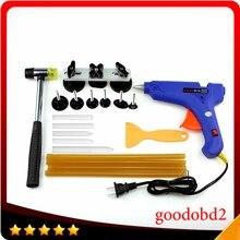 цена на Car PDR Tools Paintless Dent Repair Tools Dent Removal Puller Dent Bridge Hand Tool PDR Tool Kit Ferramentas with 100W Glue Gun