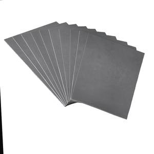 Image 2 - 1 pc A4 אפור לייזר גומי גיליון לעמוד שמן שחיקה מדויק חריטת הדפסת אוטם חותמת 297x211x2.3mm