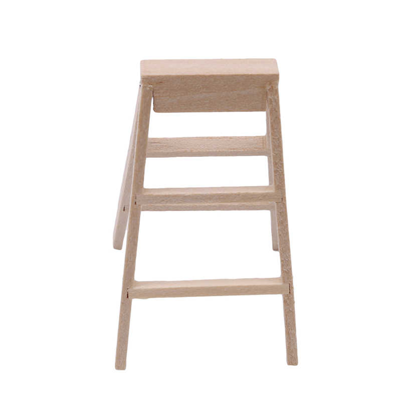 Кукольный домик миниатюрная мебель деревянная игрушечные лестницы для детей