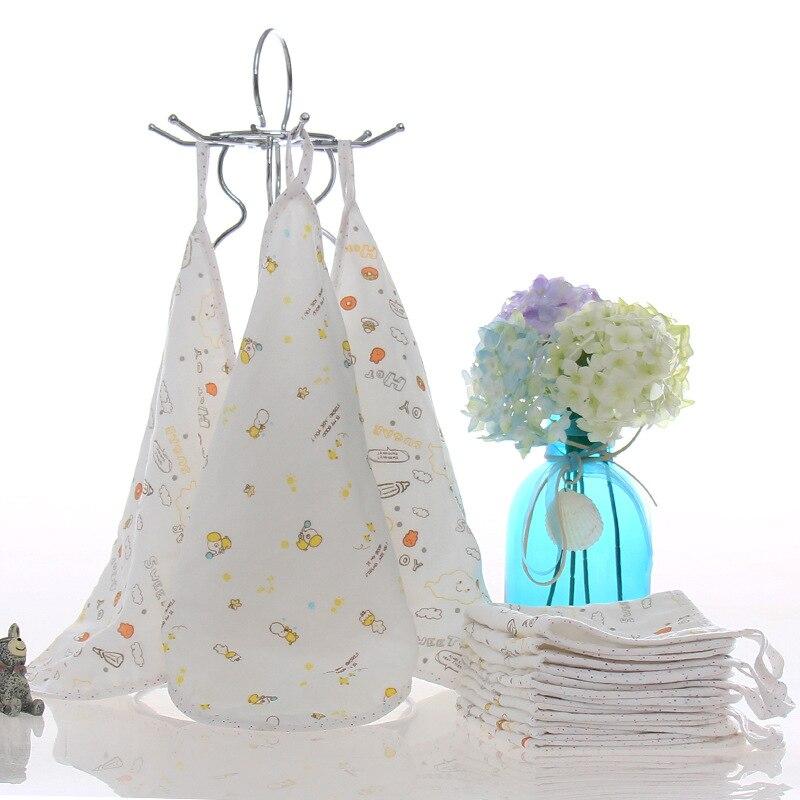 Bamboo Kitchen Towels Wholesale: 25x25cm Cotton + Bamboo Fiber Child Towel Hand Towel